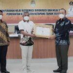 Pemkab Ketapang Diganjar Empat Penghargaan Atas Prestasi Kinerja dan Pelayanan Publik Tahun 2020