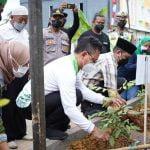 Semarak Hari Jadi Pontianak, HMI Tanam 250 Pohon