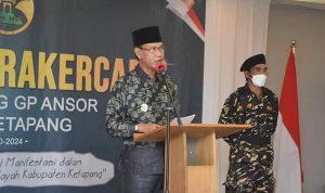 Wabup Farhan Harap Pengurus GP Ansor Dapat Kembangkan Ekonomi Organisasi