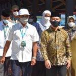Wagub Ria Norsan Motivasi Kafilah Kalbar di STQ Nasional XXVI Maluku Utara