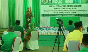 Wabup Wahyudi Ajak PPP Kolaborasi Wujudkan Kapuas Hulu HEBAT
