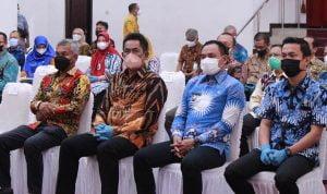 Wakil Bupati dan Ketua DPRD Kapuas Hulu Ikuti Rakor Pemberantasan Korupsi
