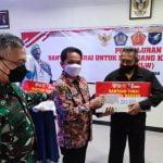 Wawako Bahasan Apresiasi TNI Salurkan Bantuan Tunai PKL dan Warung