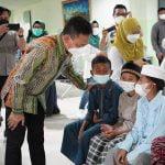 Wako Edi Dukung Baksos Ringankan Beban Warga di Masa Pandemi